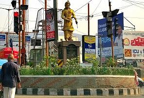 Krishna Devaraya Statue