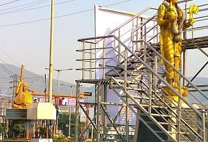 Telugutalli Statue