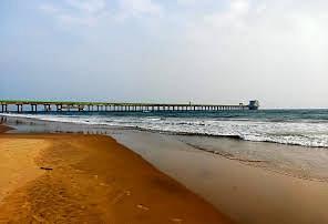 NTPC-Simhadri sea water pump BEACH