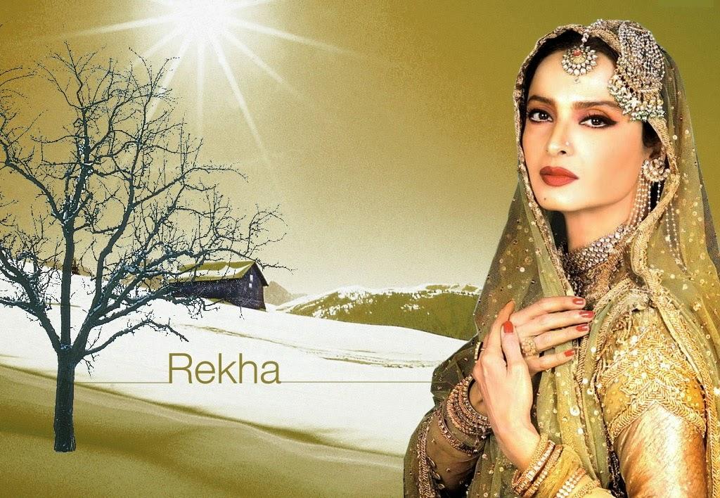 Beautiful-Rekha-HD-Wallpaper