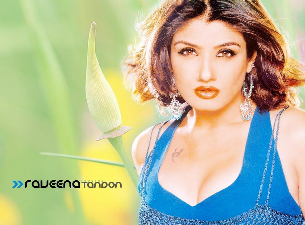 Raveena-Tandon-hot-Close-Up-Wallpaper